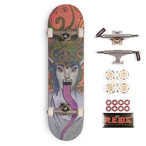 skate medusa deck complete setup