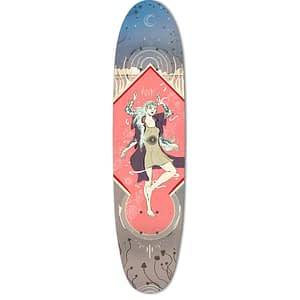 wild skate deck art