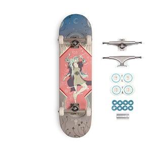 complete custom skate art deck