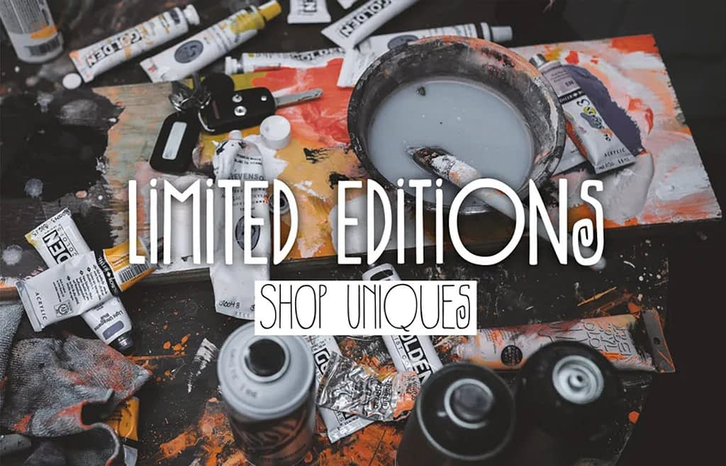 limited edition skateboard deck art
