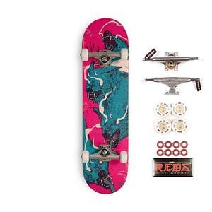 wolf skateboard complete
