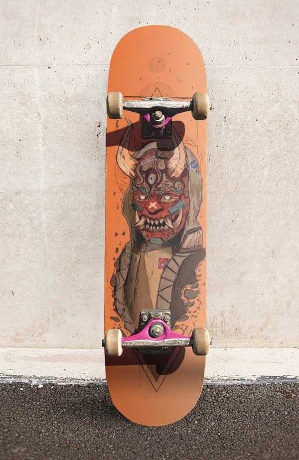 skate demonic art