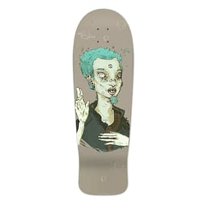 psychedelic skate deck