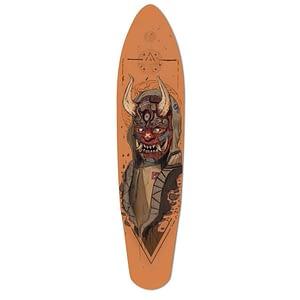 custom demon longboard